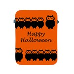 Happy Halloween - owls Apple iPad 2/3/4 Protective Soft Cases Front