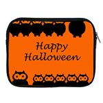 Happy Halloween - owls Apple iPad 2/3/4 Zipper Cases Front