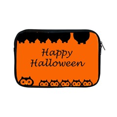 Happy Halloween   Owls Apple Ipad Mini Zipper Cases