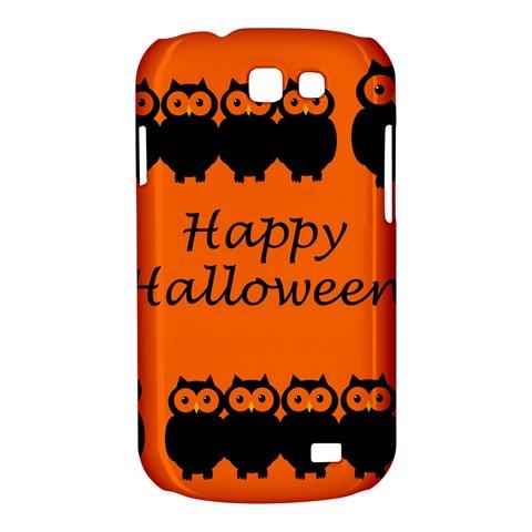 Happy Halloween - owls Samsung Galaxy Express I8730 Hardshell Case