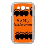 Happy Halloween - owls Samsung Galaxy Grand DUOS I9082 Case (White) Front
