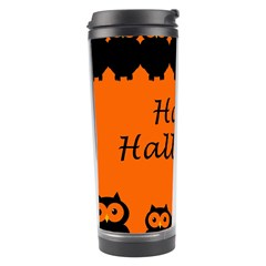 Happy Halloween - owls Travel Tumbler