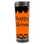 Happy Halloween - owls Travel Tumbler Center