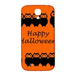 Happy Halloween - owls Samsung Galaxy S4 I9500/I9505  Hardshell Back Case Front