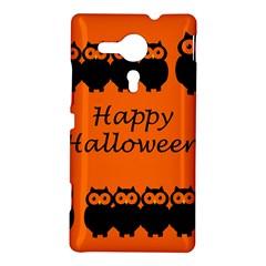 Happy Halloween - owls Sony Xperia SP