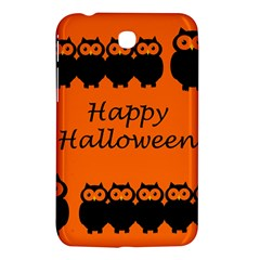 Happy Halloween   Owls Samsung Galaxy Tab 3 (7 ) P3200 Hardshell Case