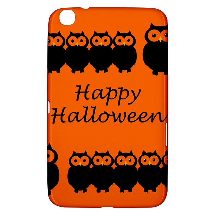 Happy Halloween - owls Samsung Galaxy Tab 3 (8 ) T3100 Hardshell Case