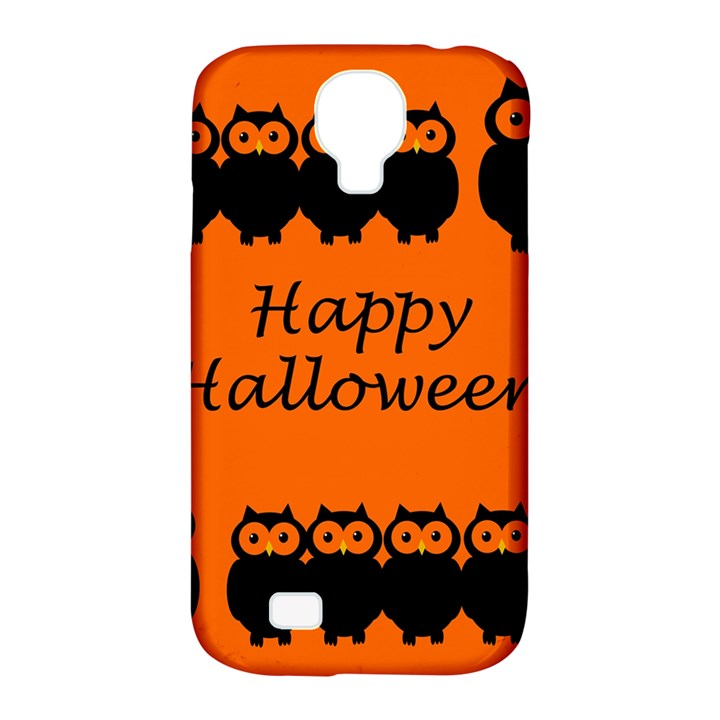 Happy Halloween - owls Samsung Galaxy S4 Classic Hardshell Case (PC+Silicone)