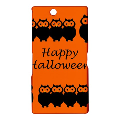 Happy Halloween - owls Sony Xperia Z Ultra