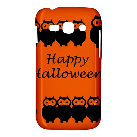 Happy Halloween - owls Samsung Galaxy Ace 3 S7272 Hardshell Case