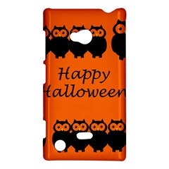 Happy Halloween - owls Nokia Lumia 720