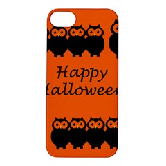 Happy Halloween - owls Apple iPhone 5S/ SE Hardshell Case