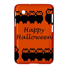 Happy Halloween   Owls Samsung Galaxy Tab 2 (7 ) P3100 Hardshell Case