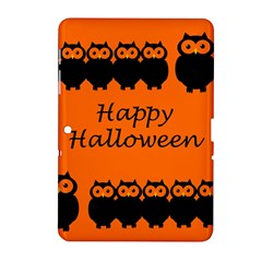 Happy Halloween - owls Samsung Galaxy Tab 2 (10.1 ) P5100 Hardshell Case