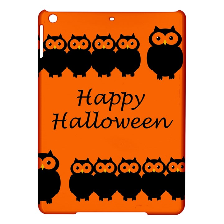 Happy Halloween - owls iPad Air Hardshell Cases