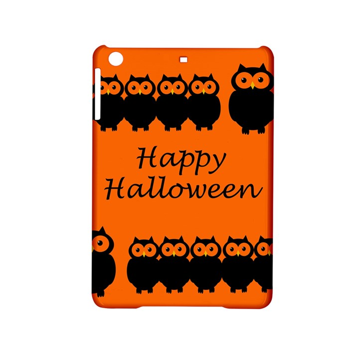 Happy Halloween - owls iPad Mini 2 Hardshell Cases
