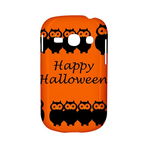Happy Halloween - owls Samsung Galaxy S6810 Hardshell Case