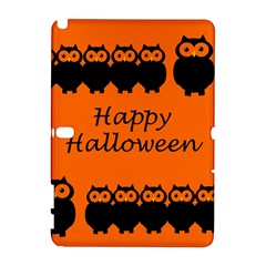 Happy Halloween - owls Samsung Galaxy Note 10.1 (P600) Hardshell Case
