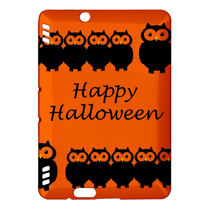 Happy Halloween - owls Kindle Fire HDX Hardshell Case