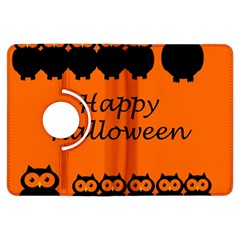 Happy Halloween - owls Kindle Fire HDX Flip 360 Case