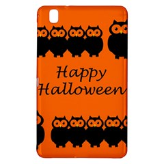 Happy Halloween - owls Samsung Galaxy Tab Pro 8.4 Hardshell Case