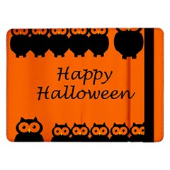 Happy Halloween - owls Samsung Galaxy Tab Pro 12.2  Flip Case