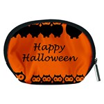 Happy Halloween - owls Accessory Pouches (Medium)  Back