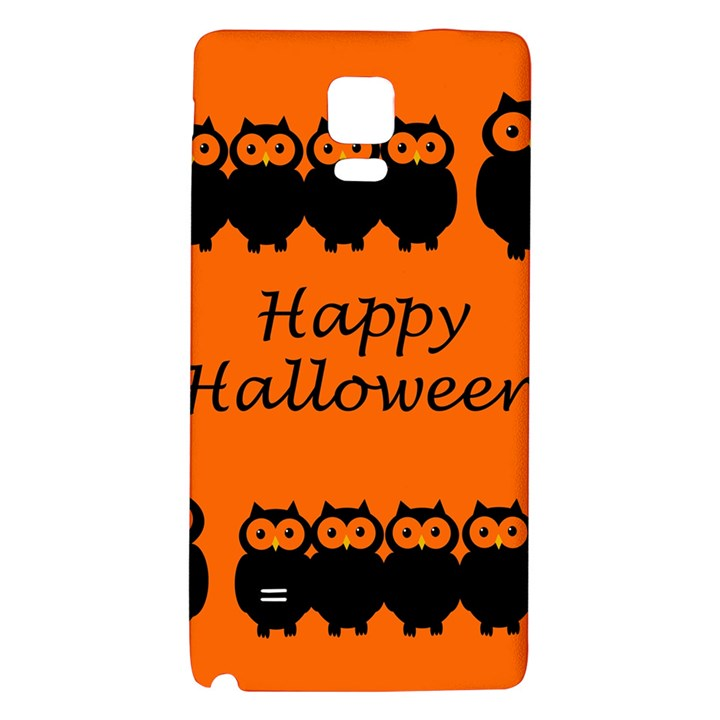 Happy Halloween - owls Galaxy Note 4 Back Case