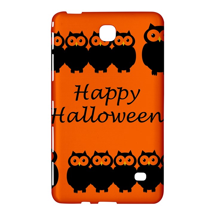 Happy Halloween - owls Samsung Galaxy Tab 4 (7 ) Hardshell Case