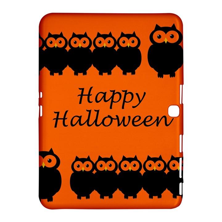 Happy Halloween - owls Samsung Galaxy Tab 4 (10.1 ) Hardshell Case