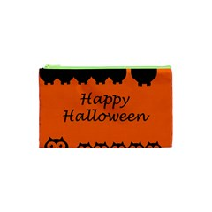 Happy Halloween - owls Cosmetic Bag (XS)