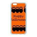 Happy Halloween - owls Apple Seamless iPhone 6/6S Case (Color) Front