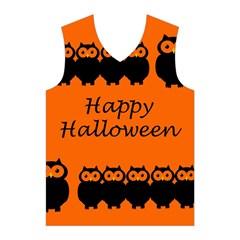 Happy Halloween - owls Men s Basketball Tank Top