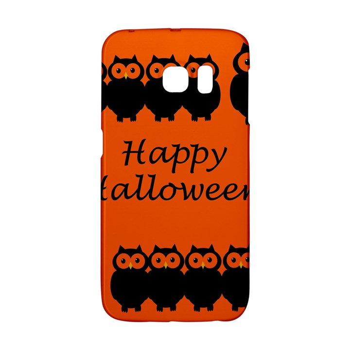 Happy Halloween - owls Galaxy S6 Edge
