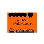 Happy Halloween - owls Satin Wrap Front
