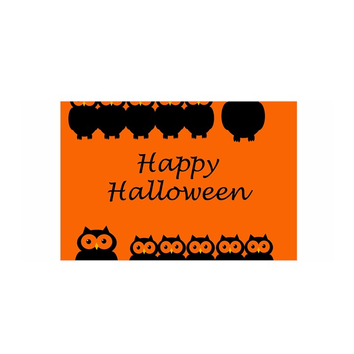Happy Halloween - owls Satin Wrap