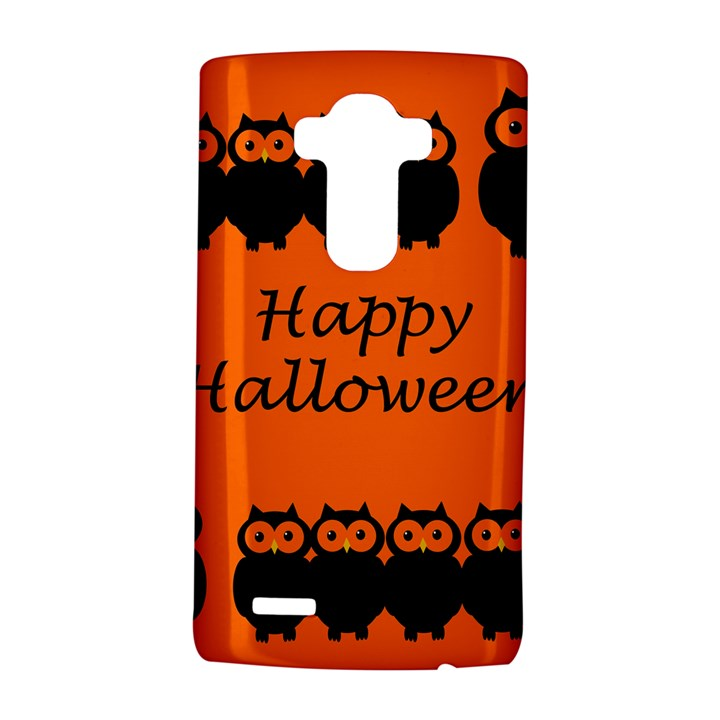 Happy Halloween - owls LG G4 Hardshell Case