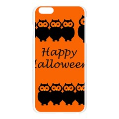 Happy Halloween - owls Apple Seamless iPhone 6 Plus/6S Plus Case (Transparent)