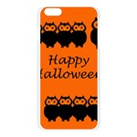 Happy Halloween - owls Apple Seamless iPhone 6 Plus/6S Plus Case (Transparent) Front