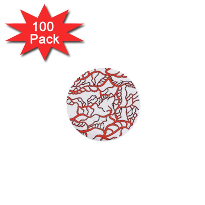 Twenty One Pilots Tear In My Heart Soysauce Remix 1  Mini Buttons (100 pack)