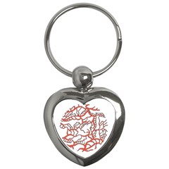 Twenty One Pilots Tear In My Heart Soysauce Remix Key Chains (Heart)