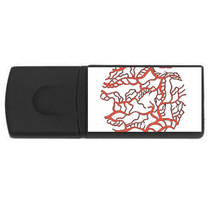 Twenty One Pilots Tear In My Heart Soysauce Remix USB Flash Drive Rectangular (2 GB)