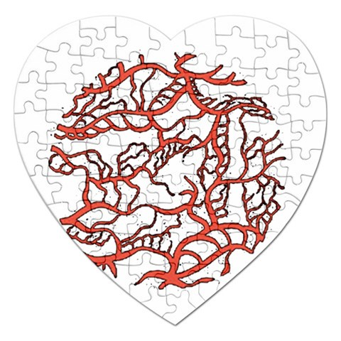 Twenty One Pilots Tear In My Heart Soysauce Remix Jigsaw Puzzle (Heart)