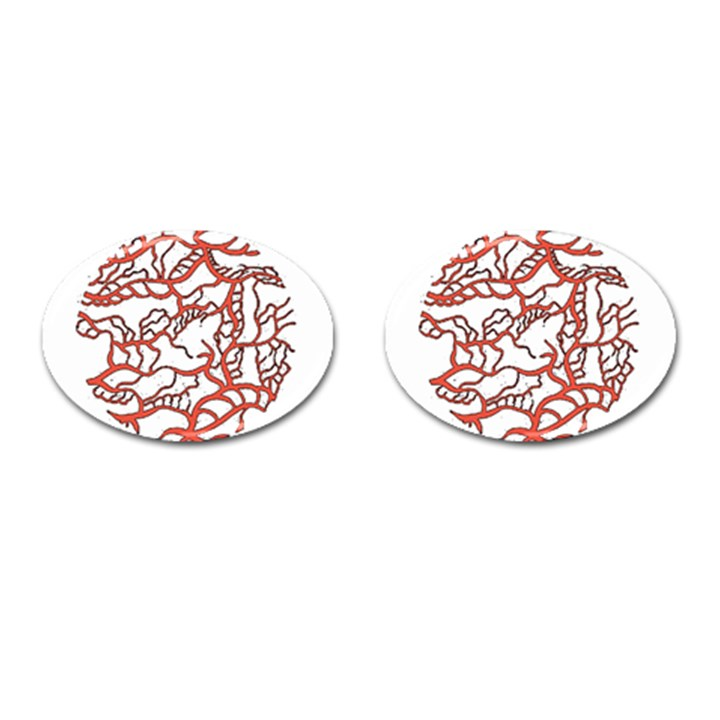 Twenty One Pilots Tear In My Heart Soysauce Remix Cufflinks (Oval)