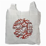 Twenty One Pilots Tear In My Heart Soysauce Remix Recycle Bag (Two Side)  Back