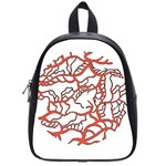 Twenty One Pilots Tear In My Heart Soysauce Remix School Bags (Small)  Front