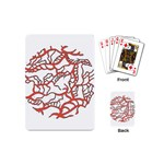 Twenty One Pilots Tear In My Heart Soysauce Remix Playing Cards (Mini)  Back