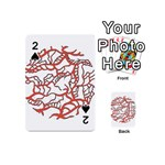 Twenty One Pilots Tear In My Heart Soysauce Remix Playing Cards 54 (Mini)  Front - Spade2