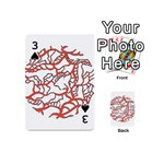 Twenty One Pilots Tear In My Heart Soysauce Remix Playing Cards 54 (Mini)  Front - Spade3