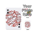 Twenty One Pilots Tear In My Heart Soysauce Remix Playing Cards 54 (Mini)  Front - Spade10